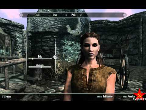 Skyrim how to do a beautiful woman(no mods needed)