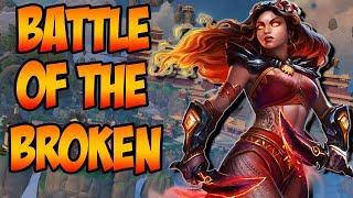 PELE MIRROR MATCH! BATTLE OF THE BROKEN GODS! - GrandMasters Ranked Duel - SMITE