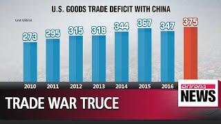 U.S. and China reach 'consensus' on reducing trade gap