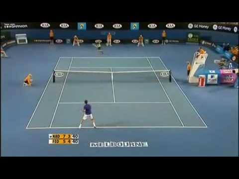 GRF : Roger Federer against Rafael Nadal at Australian Open 2009