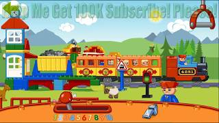 Duplo Lego Trains - Fun Game For Kids