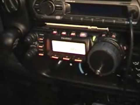 Yaesu FT-857 and ATAS-120 Mobile Set-up