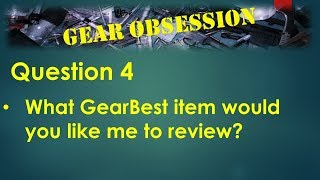 Question 4 and VLOG