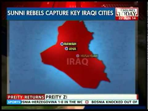 Sunni Militants capture key Iraqi cities