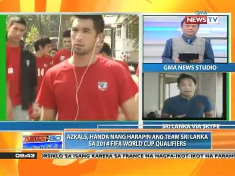News to Go - Azkals naghahanda para sa World Cup Asia playoffs 6/30/11