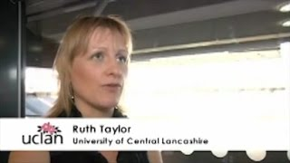 Testimonial from Ruth Taylor, University of Central Lancashire