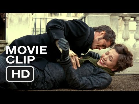 Hysteria Movie CLIP #4 - Bicycle Accident (2012) Maggie Gyllenhaal HD Movie