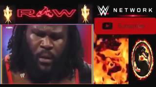 WWE Match Raw Vs Great Kali
