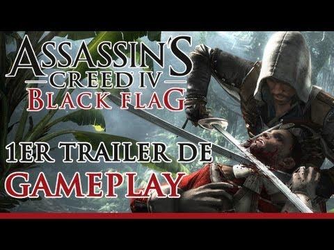 Assassin's Creed 4 Black Flag - Premier Trailer de gameplay