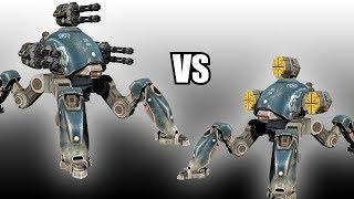 Fujin (Punishers T) vs Fujin (Orkans) - AnakinTEST #16 | War Robots