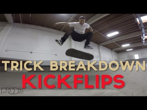 Paul Rodriguez l Trick Breakdown l Kickflips