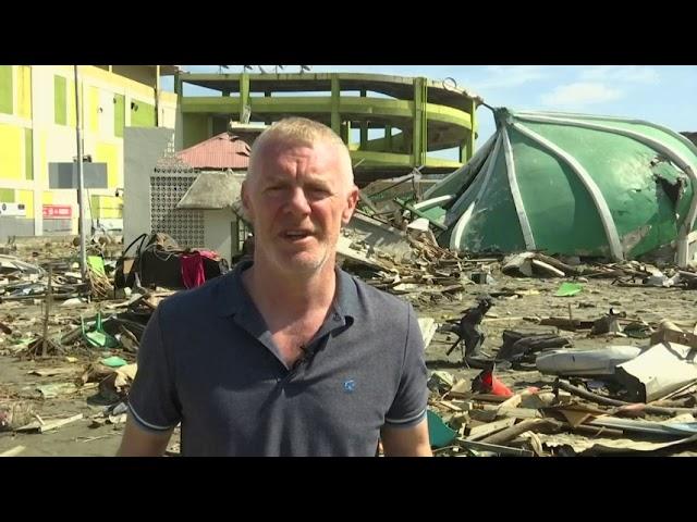 AP reporter describes Indonesia quake devastation