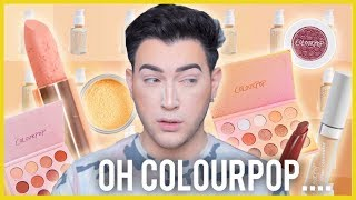 FULL FACE USING ONLY COLOURPOP! NEW NO FILTER FOUNDATION TESTED!!!
