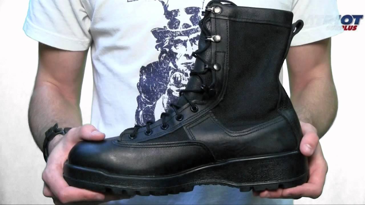 Belleville 700 Gore Tex Waterproof Combat Boot Youtube