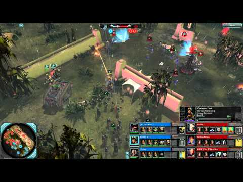 DoW2: Retribution — 3v3 | Faction War — Eldar [vs] Imperial Guard | 4 | Elite