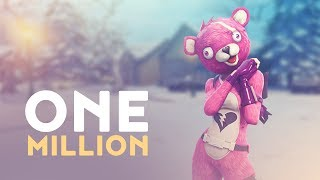 ONE MILLION SUBSCRIBERS! (Fortnite Battle Royale)