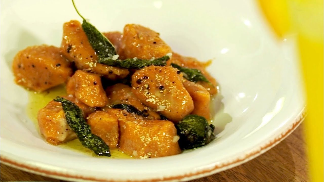 Sweet Potato Gnocchi - Gluten Free with Alex T - YouTube