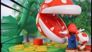 Super Mario Toy「Piranha Plant Game!」マリオのパックンフラワーゲーム