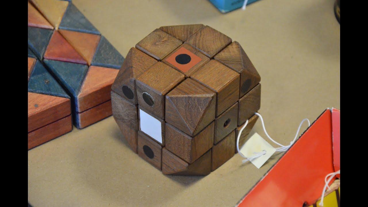 Куб трансформер из бумаги » Сделай сам 37