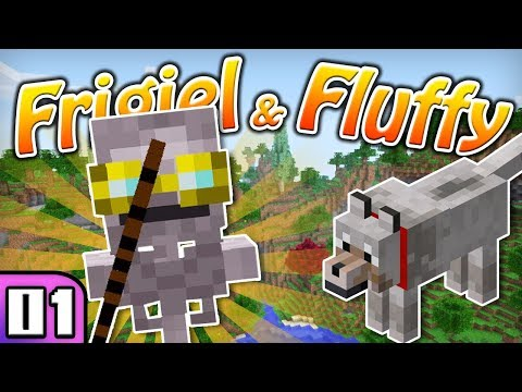 FRIGIEL & FLUFFY : RETOUR AUX SOURCES ! | Minecraft - S5 Ep.01 thumbnail