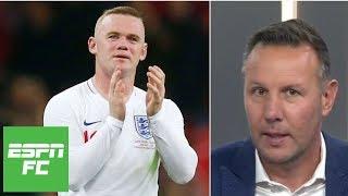 Ranking Rooney among England