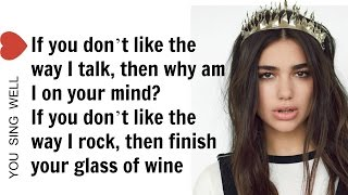 Download Lagu Dua Lipa - Blow Your Mind (Mwah) LYRICS Gratis STAFABAND