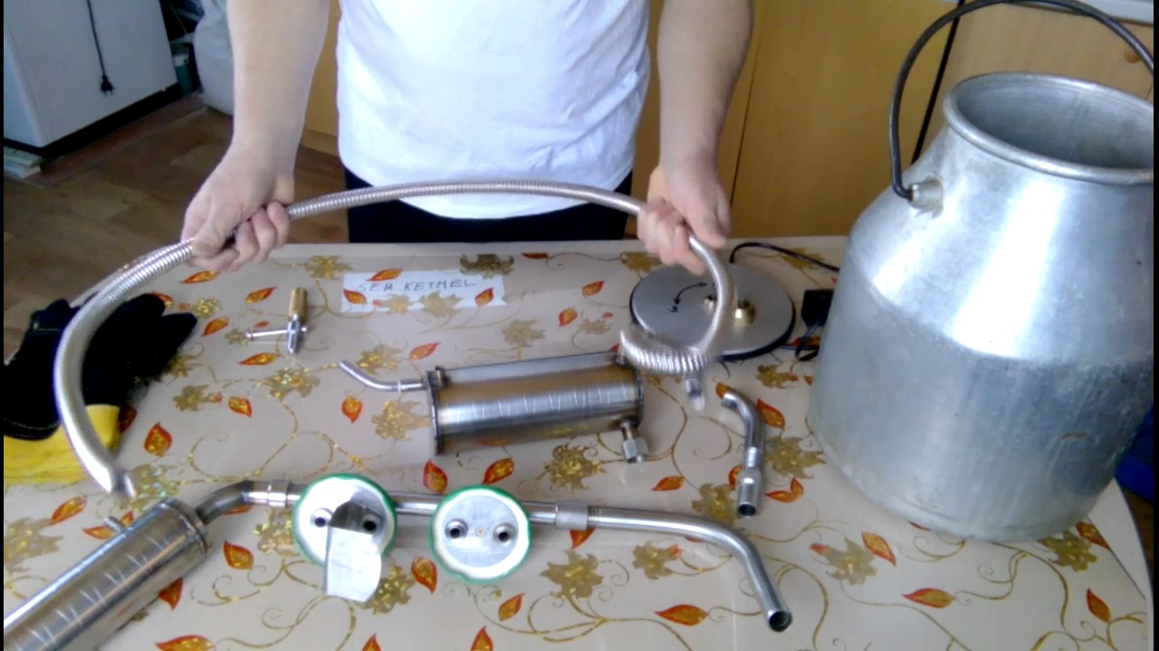 Самодельный самогонный аппарат своими руками 10
