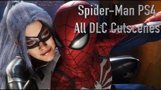 Spider-Man PS4 The Heist DLC All Cutscenes Game Movie