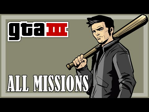 GTA 3 - All Missions | Full Game HD