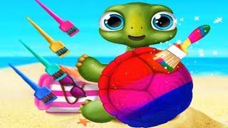 Fun Newborn Animals Care Kids Game - Baby Animal Hair Salon 3 - Pet Care & Makeover Games For Kids