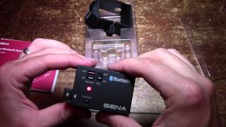 Sena Bluetooth Pack For GoPro Hero 3 Unboxing And Review