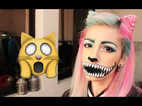 ➾ Maquillaje De Gato Para Halloween ✧ (MUY FÁCIL) ✧ Miranda Ibañez