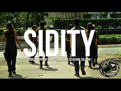Wyre Underground Of Uplb || Sidity - Roscoe Dash Ft. Big Sean (choreography By Khalil & Steph) video