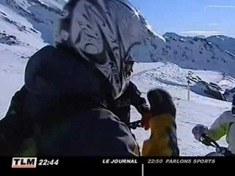Station de ski : Le VTT sur neige à Val Thorens