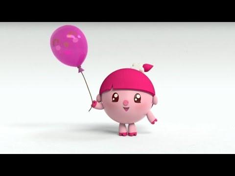 Малышарики - Качели (1 серия)   Развивающие мультфильмы для самых маленьких 1,2,3,4 года