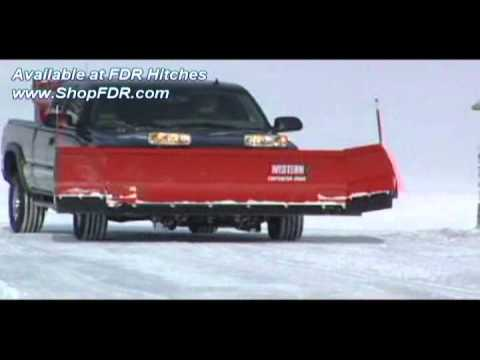 Contractor Grade Snow Plows By Western Youtube