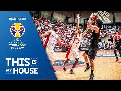 Japan v Iran - Highlights - FIBA Basketball World Cup 2019 - Asian Qualifiers thumbnail