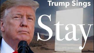 """Trump Sings """"Stay"""" By Zedd, Alessia Cara"""