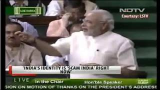 'Scam India' to 'Skill India'- PM- Narendra Modi speech_01