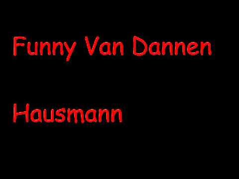 Funny Van Dannen - Hausmann