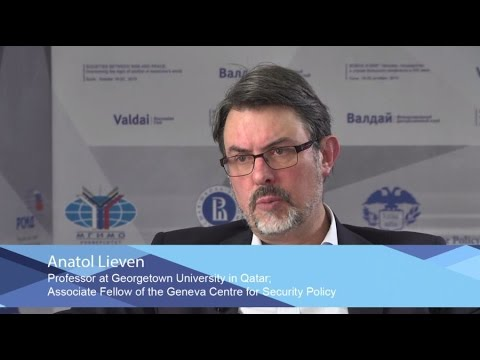 Anatol Lieven: New Independent Variables for Central Asia and Middle East