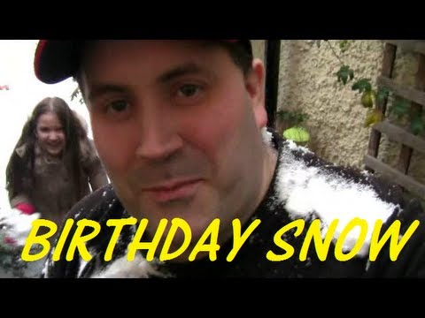 my birthday in the snow - london 20th jan 2013 vlog