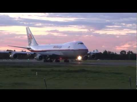 MASkargo 747-400F 9M-MPS LOUD Takeoff from Adelaide International Airport