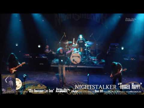 "NIGHTSTALKER ""Trigger Happy"" METAL HAMMER DVD March issue (No.363)"
