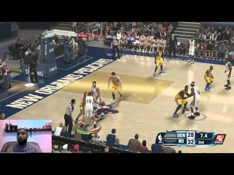 NBA 2k14 XBOX ONE Online Ranked Match   New Orleans Pelicans   AROUND THE LEAGUE