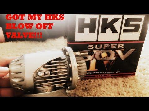 HKS Super SQV4 Blow off valve installation for SUBARU STI 15-17