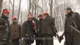 Selection Hunts In Winter