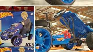 Costco! Hot Wheels XL Pedal Ride On - Blue $149!