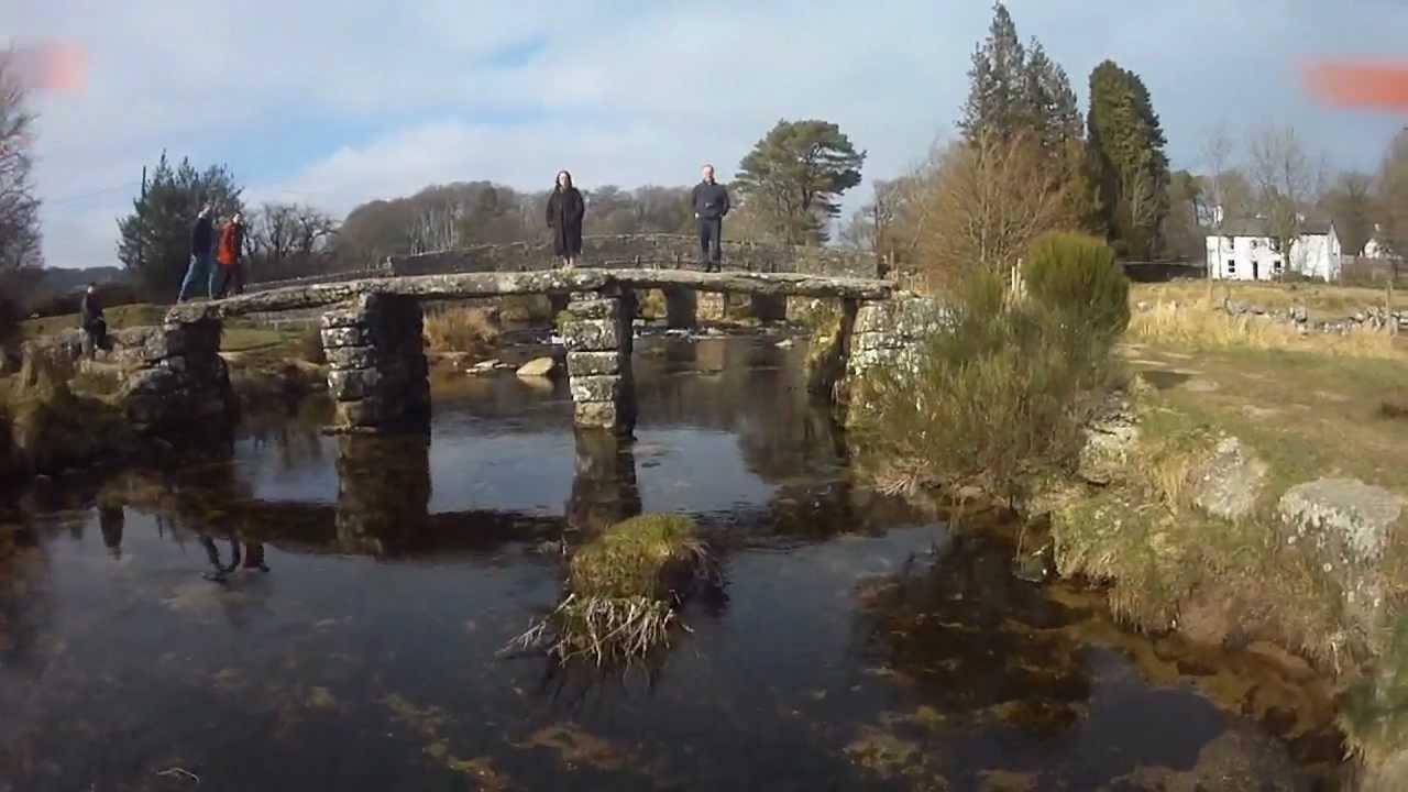 fpv quadcopter two bridges nr princetown  devon uk
