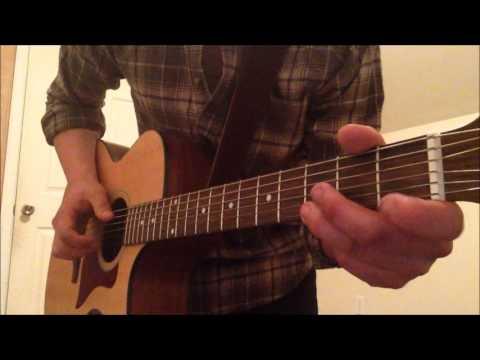 Tree Adams - Flatbed Romance Guitar Acoustic Tutorial (Keith)